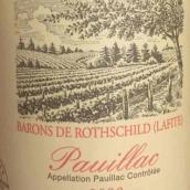 罗斯柴尔德男爵特别珍藏干红葡萄酒(Barons de Rothschild(Lafite)Reserve Speciale,Pauillac,France)