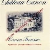 嘉龙酒庄干红葡萄酒(Chateau Canon,Canon-Fronsac,France)