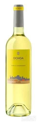 奥乔亚霞多丽-维奥娜混酿干白葡萄酒(Bodegas Ochoa Viura-Chardonnay,Navarra,Spain)