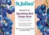 圣朱利安无酒精起泡酒(St. Julian Winery Alcohol Free Sparkling Red Grape Juice, Michigan, USA)