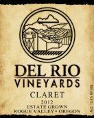 德利奥酒庄克莱雷混酿干红葡萄酒(Del Rio Claret,Oregon,USA)