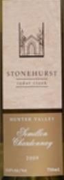史东尼赫斯赛美蓉霞多丽混酿干白葡萄酒(Stonehurst Semillon Chardonnay,Hunter Valley,Australia)