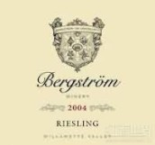 伯格斯多姆雷司令干白葡萄酒(Bergstrom Wines Riesling,Willamette Valley,USA)