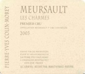 皮埃尔-伊夫香牡(默尔索一级园)白葡萄酒(Pierre-Yves Colin-Morey Les Charmes,Meursault Premier Cru,...)