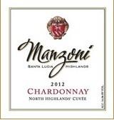 曼佐尼北部高地霞多丽干白葡萄酒(Manzoni North Highlands Chardonnay,Santa Lucia Highlands,USA)