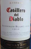 干露红魔鬼珍藏长相思干白葡萄酒(Concha y Toro Casillero del Diablo Reserve Sauvignon Blanc, Casablanca Valley, Chile)