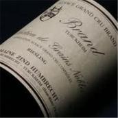 鸿布列什布兰德园雷司令选粒贵腐甜白葡萄酒(Domaine Zind-Humbrecht Brand Riesling SGN,Alsace,France)
