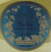 柯波拉索菲亚雷司令半干白葡萄酒(Francis Ford Coppola Sofia Riesling, Monterey County, USA)