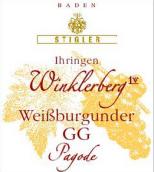 施蒂格勒依瑞恩温克乐堡宝塔特级葡萄园白皮诺干白葡萄酒(Weingut Stigler Ihringen Winklerberg Weissburgunder Pagode GG trocken, Baden, Germany)