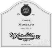 维沙托麝香白葡萄酒(V.Sattui Muscat,California,USA)