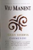 威玛酒庄特级珍藏佳美娜干红葡萄酒(Viu Manent Gran Reserva Carmenere,Colchagua Valley,Chile)