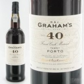 辛明顿家族格兰姆40年茶色波特酒(Symington Family Graham's 40 Year Old Tawny Port,Douro,...)