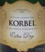科贝尔干型起泡酒(Korbel Extra Dry,California,USA)