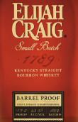 以利亚克雷格小批1789原酒肯塔基纯波本威士忌(Elijah Craig Small Batch 1789 Barrel Proof Kentucky Straight...)