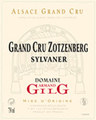 吉力歌佐森堡(阿尔萨斯特级园)西万尼半干型白葡萄酒(Domaine Armand Gilg Zotzenberg Sylvaner,Alsace Grand Cru,...)