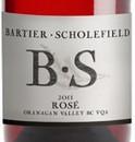 巴提尔·斯科菲德桃红葡萄酒(Bartier·Scholefield Rose,Okanagan Valley,Canada)