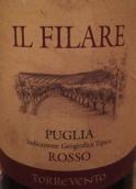 风塔菲莱尔干红葡萄酒(Torrevento Il Filare Rosso, Puglia, Italy)