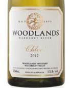 伍德兰斯克洛伊干白葡萄酒(Woodlands Chloe, Margaret River, Australia)