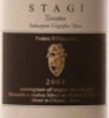 帕拉齐诺酒庄斯塔吉红葡萄酒(Podere Il Palazzino Stagi, Toscana, Italy)