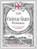 嘉仙酒庄红葡萄酒(Chateau Gazin, Pomerol, France)