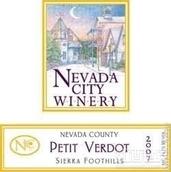 内华达酒庄味而多干红葡萄酒(Nevada City Winery Petite Verdot, Sierra Foothills, USA)