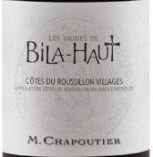 莎普蒂尔维尼上比拉干红葡萄酒(M. Chapoutier Les Vignes de Bila-Haut Cotes du Roussillon Villages, Languedoc-Roussillon, France)