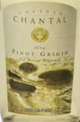 香塔尔酒庄灰皮诺干白葡萄酒(Chateau Chantal Pinot Grigio, Old Mission Peninsula, USA)