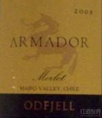 奥菲船主梅洛干红葡萄酒(Odfjell Armador Merlot, Maipo Valley, Chile)