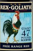 HRM雷克斯歌利亚自由区红葡萄酒(HRM Rex Goliath Giant 47 Pound Rooster Free Range Red,...)