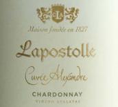 拉博丝特亚历山大系列霞多丽干白葡萄酒(Casa Lapostolle Cuvee Alexandre Chardonnay, Casablanca Valley, Chile)