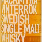 麦克米拉冬日烟雾瑞典单一麦芽威士忌(Mackmyra Vinterrok Swedish Single Malt Whisky,Sweden)