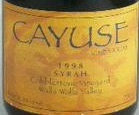 凯尤斯科布斯通园西拉干红葡萄酒(Cayuse Cobblestone Vineyard Syrah,Walla Walla Valley,USA)