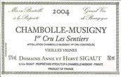 西高特酒庄圣迪尔(香波-慕西尼一级园)干红葡萄酒(Domaine Anne et Herve Sigaut Les Sentiers,Chambolle-Musigny ...)