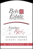布里酒庄珍藏签名桃红葡萄酒(Brys Estate Reserve Signature Rose, Old Mission Peninsula, USA)