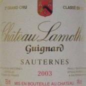 拉莫特齐格诺酒庄贵腐甜白葡萄酒(Chateau Lamothe Guignard,Sauternes,France)