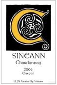 西尼恩霞多丽干白葡萄酒(Sineann Chardonnay,Oregon,USA)