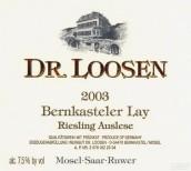 露森班卡斯特勒-雷伊园雷司令精选白葡萄酒(Dr. Loosen Bernkasteler Lay Riesling Auslese, Mosel, Germany)