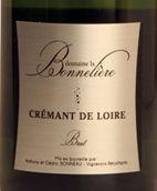 波纳列酒庄卢瓦尔起泡酒(极干型)(Domaine La Bonneliere Cremant de Loire Brut Blanc,Saumur-...)