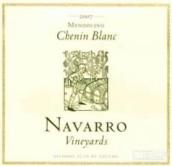 纳瓦罗白诗南干白葡萄酒(Navarro Vineyards Chenin Blanc,Mendocino,USA)