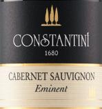 康斯坦蒂尼优质赤霞珠干红葡萄酒(Constantini Eminent Cabernet Sauvignon,Goriska Brda,Slovenia)