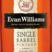 伊万威廉单桶年份肯塔基纯波本威士忌(Evan Williams Single Barrel Vintage Kentucky Straight ...)