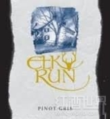 奔鹿灰皮诺干白葡萄酒(Elk Run Pinot Gris,Maryland,USA)