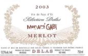 德拉斯兄弟梅洛精选干红葡萄酒(Delas Freres Merlot Selection, Vin de Pays d'Oc, France)