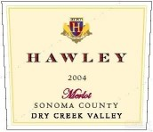 Hawley Winery 'Hawley Vineyard' Merlot,Dry Creek Valley,USA