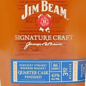 占边匠心签名版四分之一桶肯塔基波本威士忌(Jim Beam Signature Craft Quarter Cask Finished Kentucky ...)