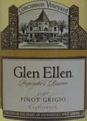 肯嘉尼酒庄艾伦珍藏灰皮诺干白葡萄酒(Concannon Vineyard Glen Ellen Proprietor's Reserve Pinot ...)
