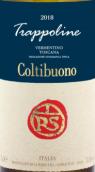 巴迪亚可提布诺查坡理尼维蒙蒂诺白葡萄酒(Badia a Coltibuono Trappoline Vermentino Toscana IGT, Tuscany, Italy)