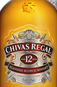 芝华士12年苏格兰调和威士忌(Chivas Regal Aged 12 Years Blended Scotch Whisky, Speyside, UK)