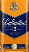 百龄坛12年苏格兰调和威士忌(Ballantine's Aged 12 Years Blended Scotch Whisky, Scotland, UK)