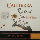圣地珍藏霞多丽干白葡萄酒(库里科谷)(Caliterra Reserva Chardonnay,Curico Valley,Chile)